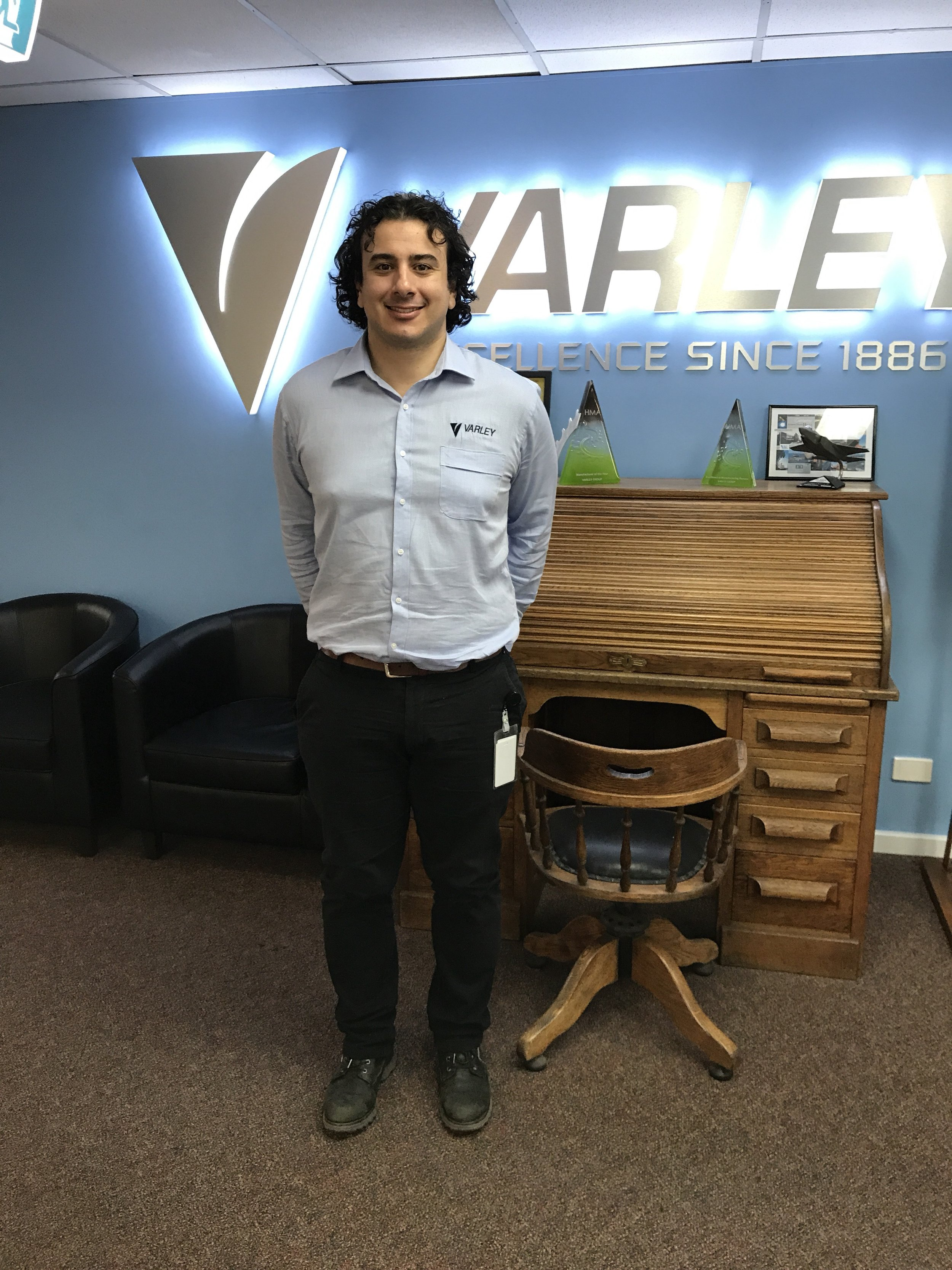 Varley Group Marketing Analyst, Daniel Pilipczyk