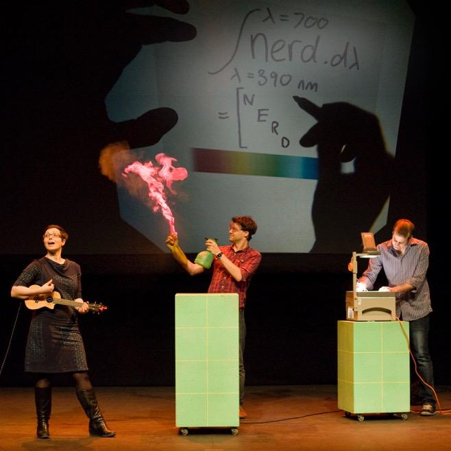 Festival of the Spoken Nerd in action. Image credit: Kitty Walker