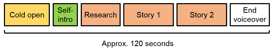Format used for CiW interviews