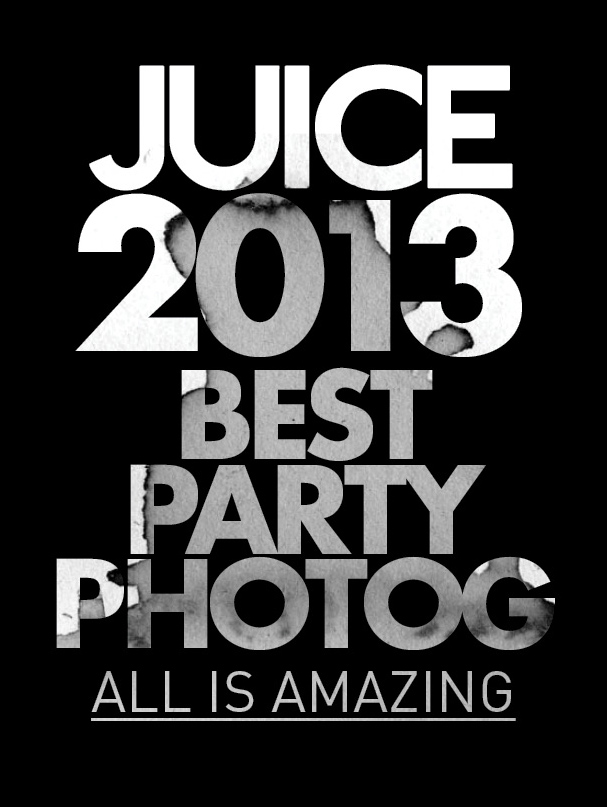 Best Party Photography award from  Juice Malaysia