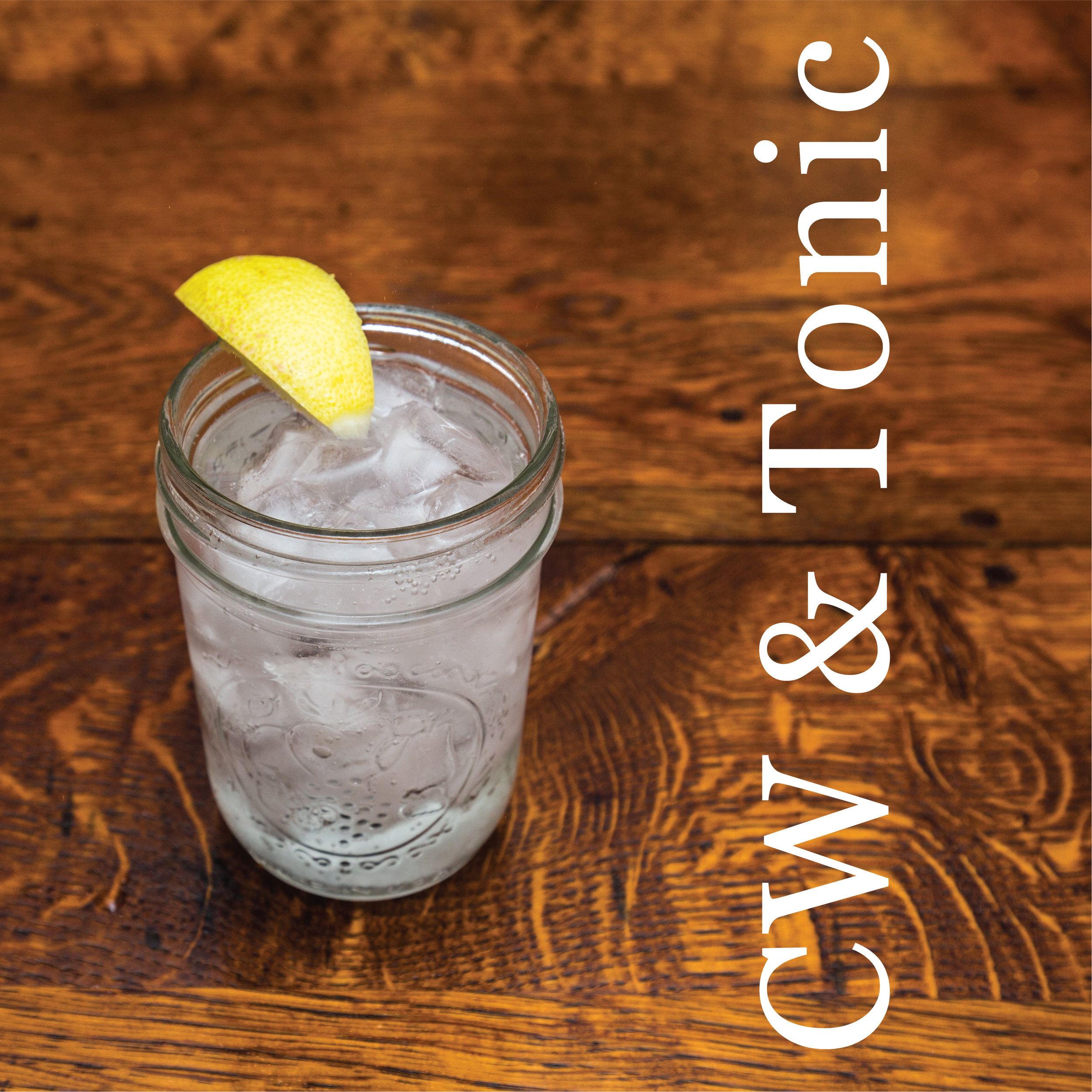 Corn Whiskey and Tonic