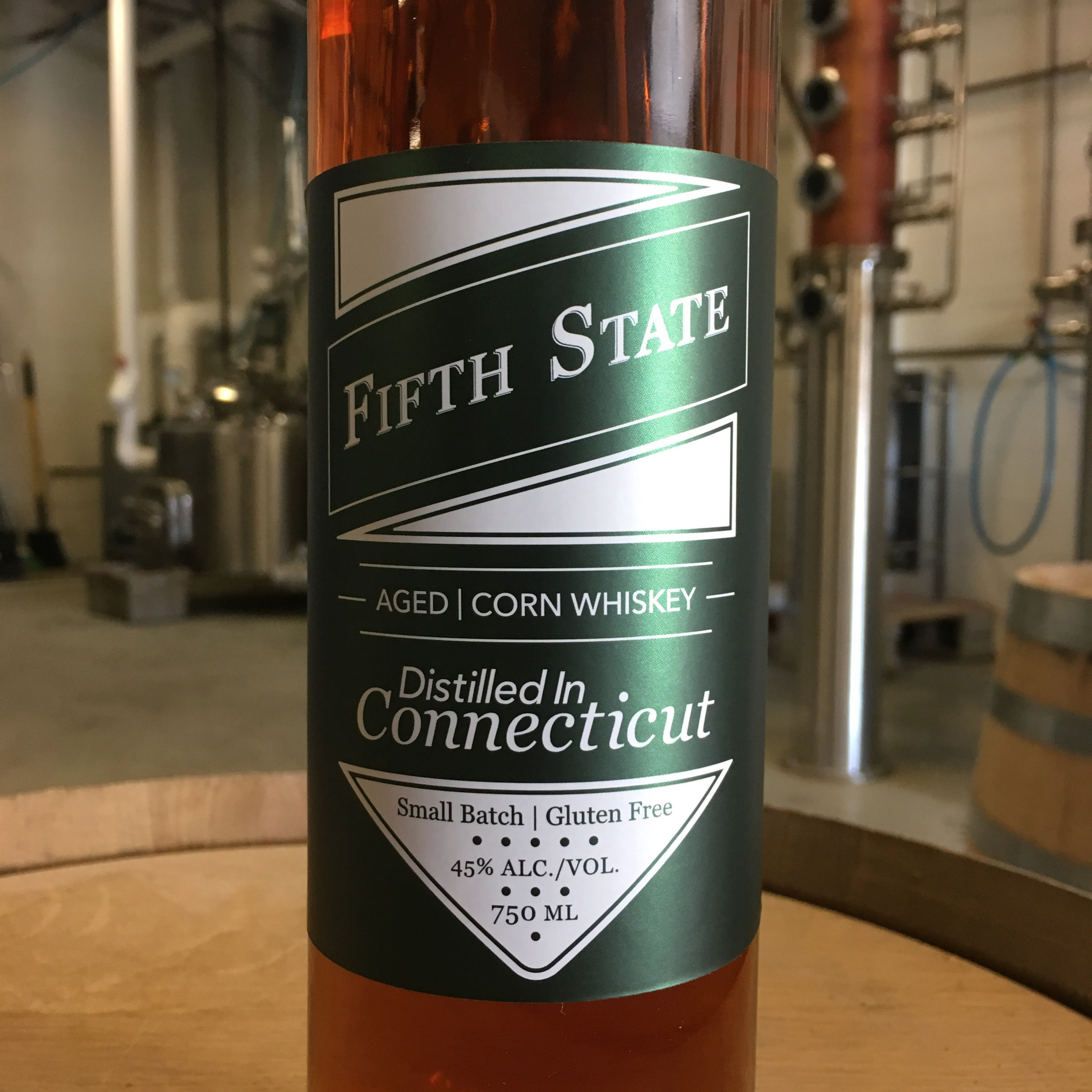 Fifth State Whiskey - Fairfield County's Whiskey