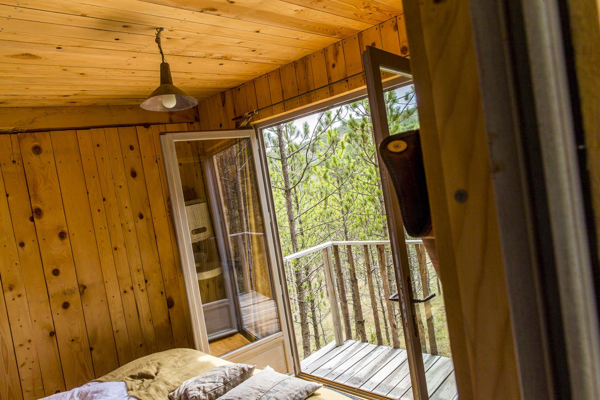 Hébergements en cabane