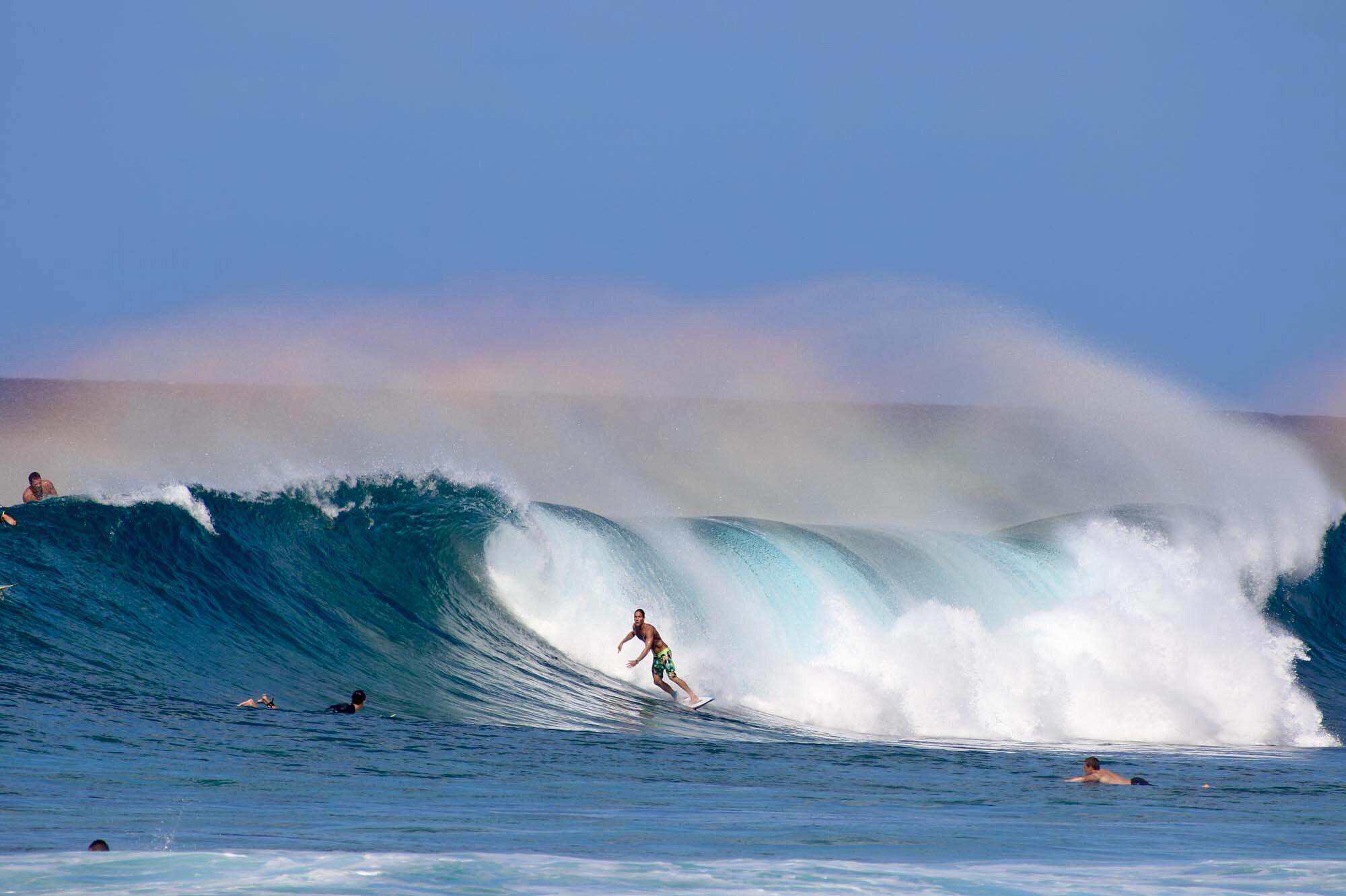 Rainbow Spray, Hawaii