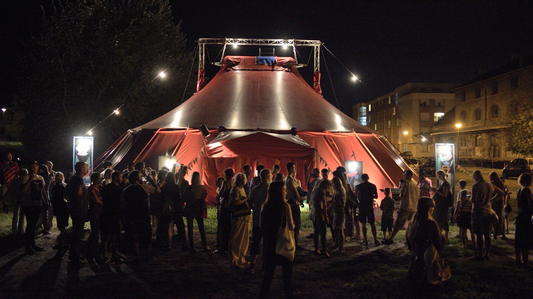 Edition 2018 à Novi Sad sous le chapiteau de Cirkusfera et Cirkorama