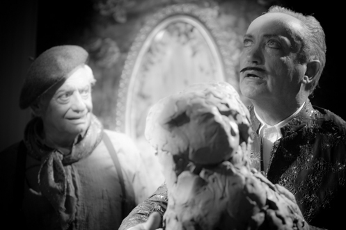 Louis Negin with Udo Kier in  Keyhole  by Guy Maddin
