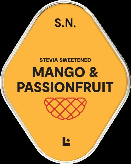 Super Naturals Mango Passionfruit - Amazing description text goes here. Lorem ipsum dolor sit amet, consectetur adipiscing elit. Mauris facilisis ex a enim gravida, eu suscipit quam mattis.