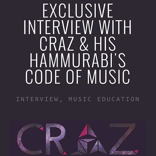 We spoke to @crazofficial about his music career and some personal tings. Check it out on @thatstudygroup blog! Www.thatstudygroup.com/blog/exclusivecrazinterview 🎶