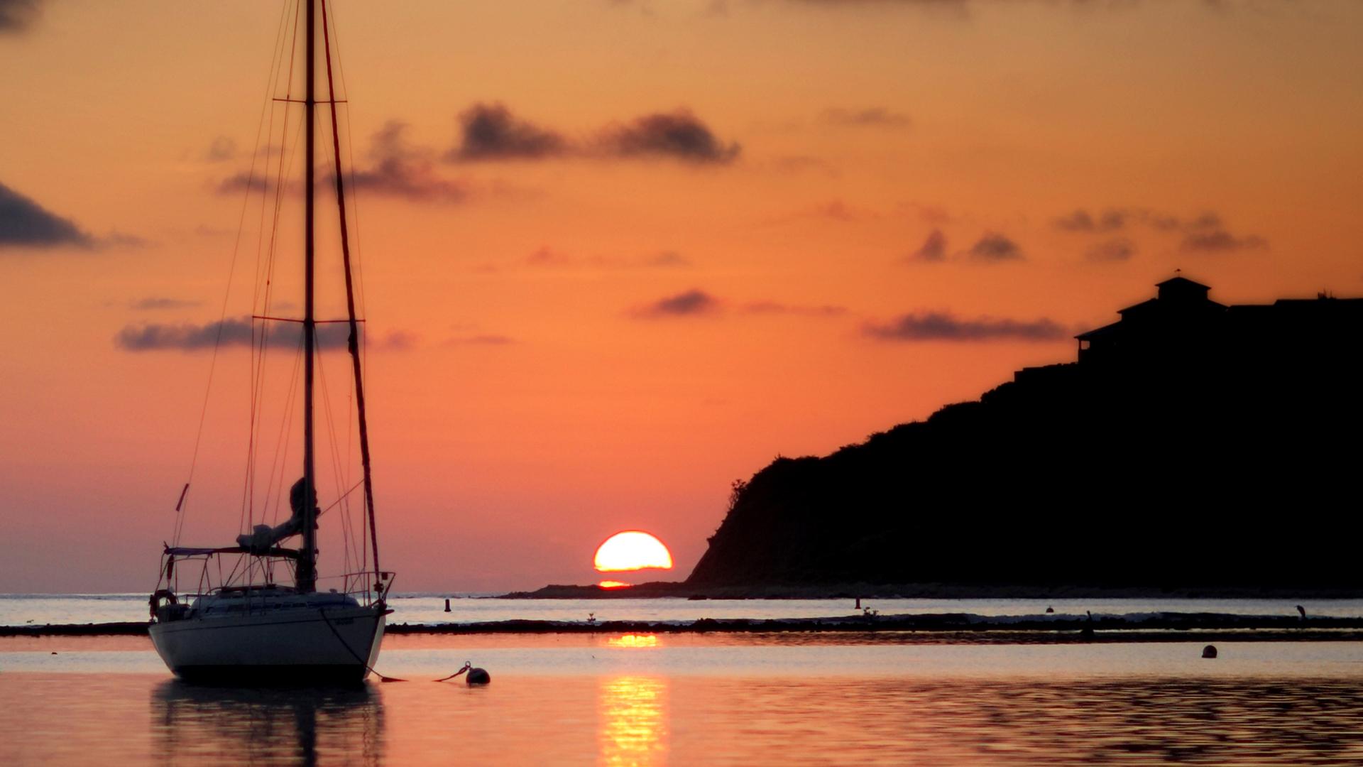 Sunrise in Maya Cove