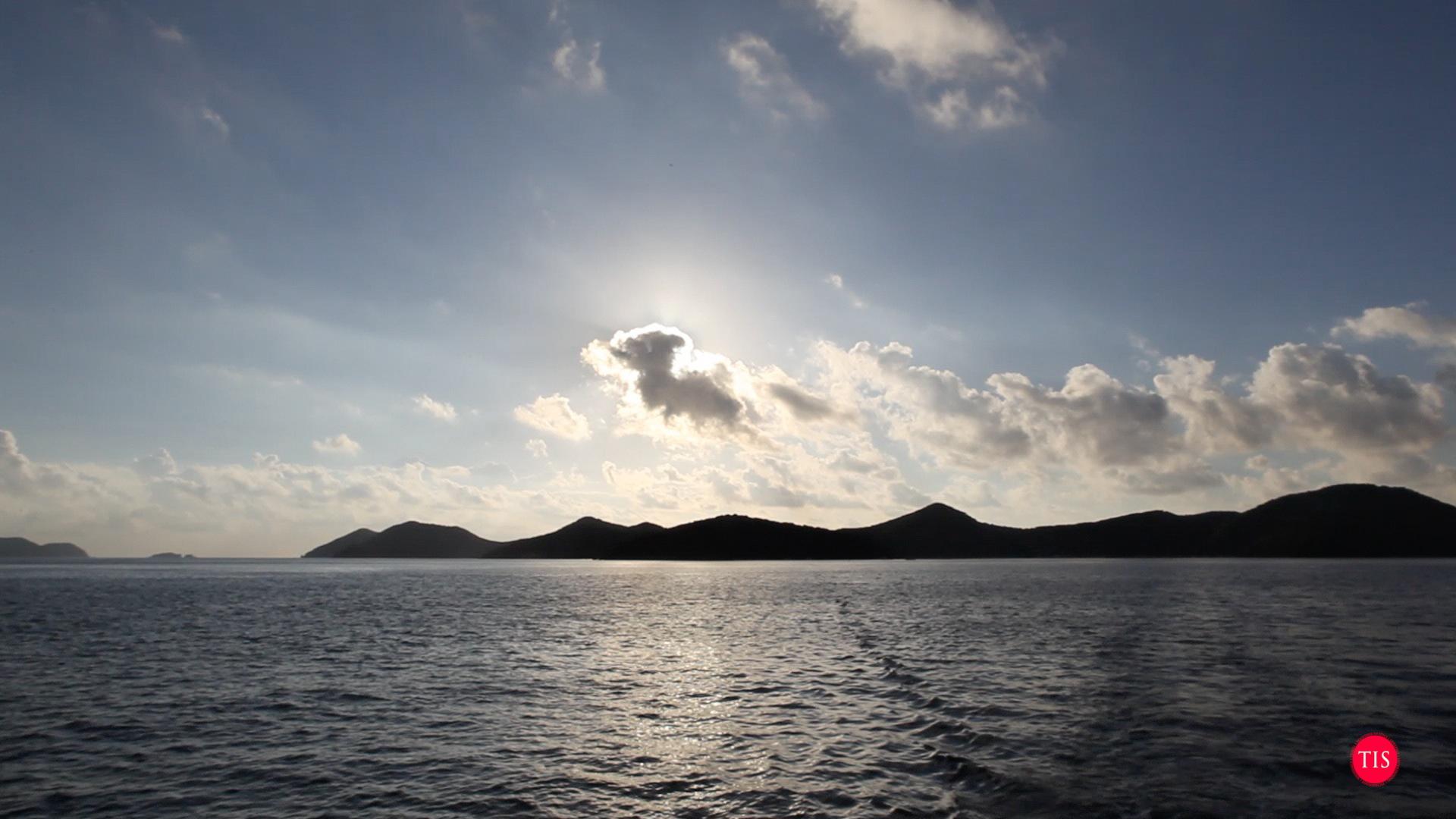 Norman Island Sunrise