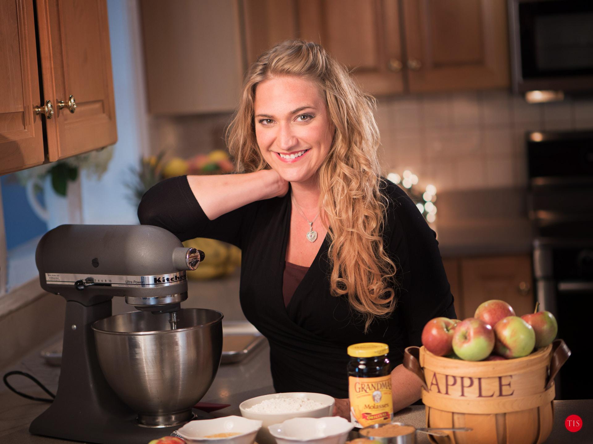 Apple Molasses Cookies by Jennifer Maring