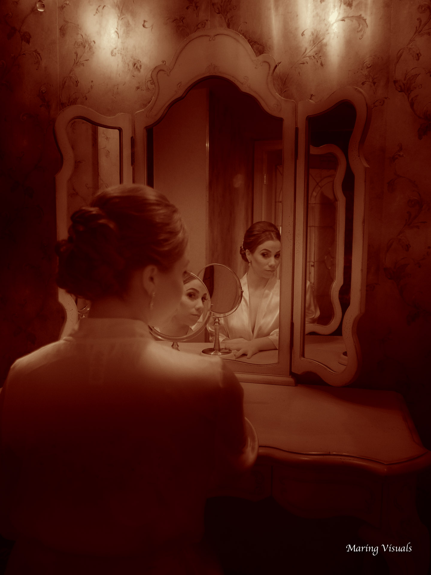 Mirror Image of the Bride