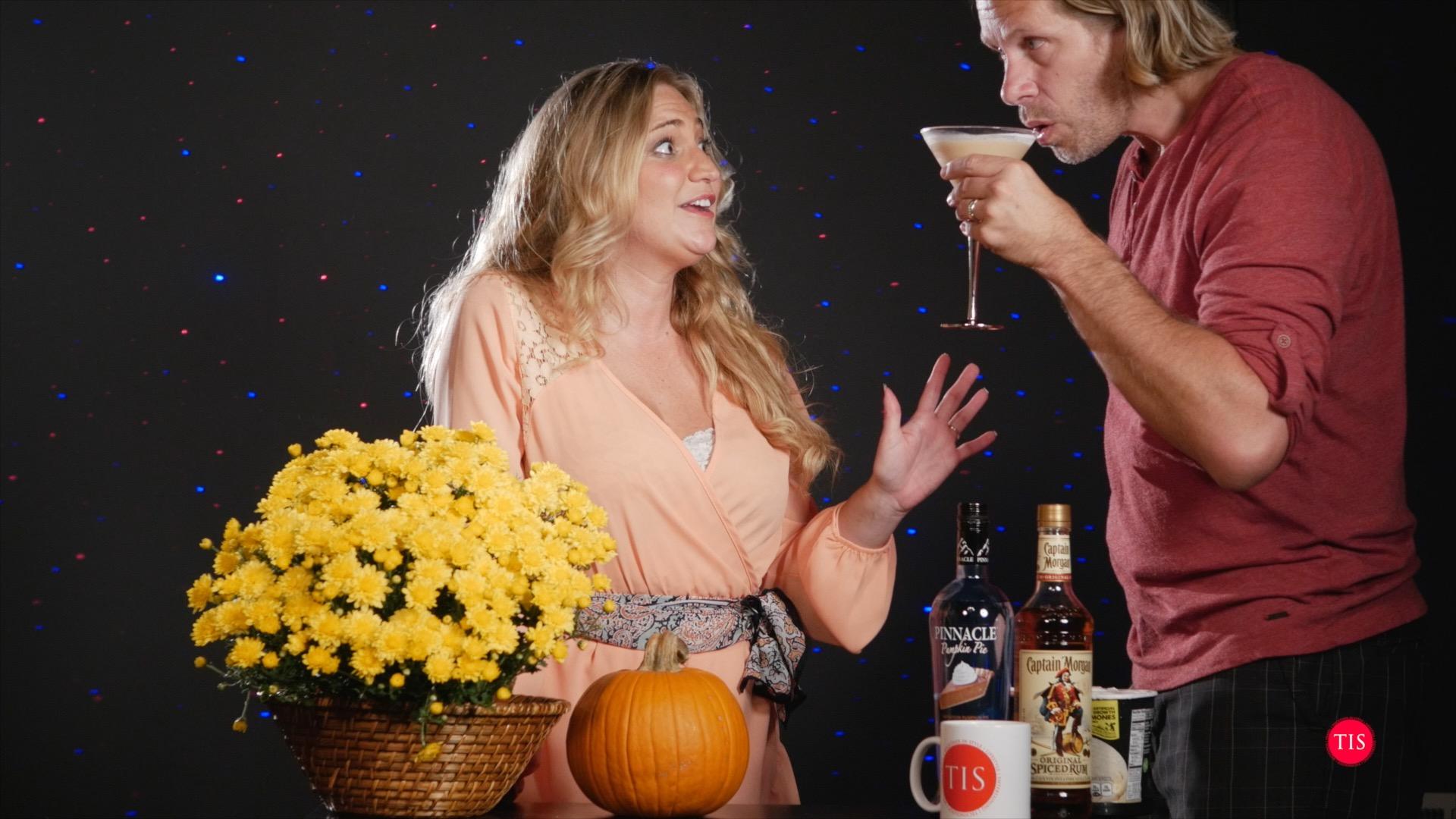 Make sure to try Jennifer's Pumpkin Spice Martini
