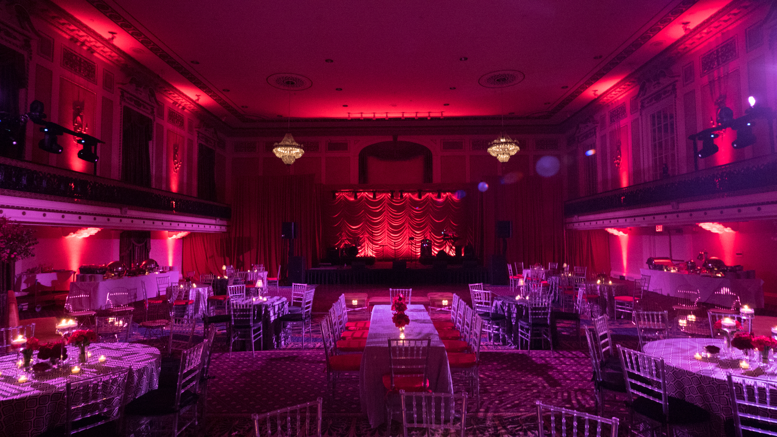 A 75th Birthday party designed by Shawn Rabideau Events at The Roosevelt Hotel NYC