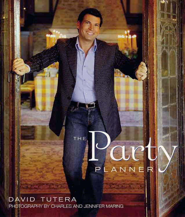 ONE OF SEVERAL BOOKS WE CO-CREATED WITH CELEBRITY PARTY PLANNER DAVID TUTERA. MARING CAPTURED ALL OF THE PHOTOGRAPHS IN THESE CREATIVE BOOKS ON HOME ENTERTAINING.