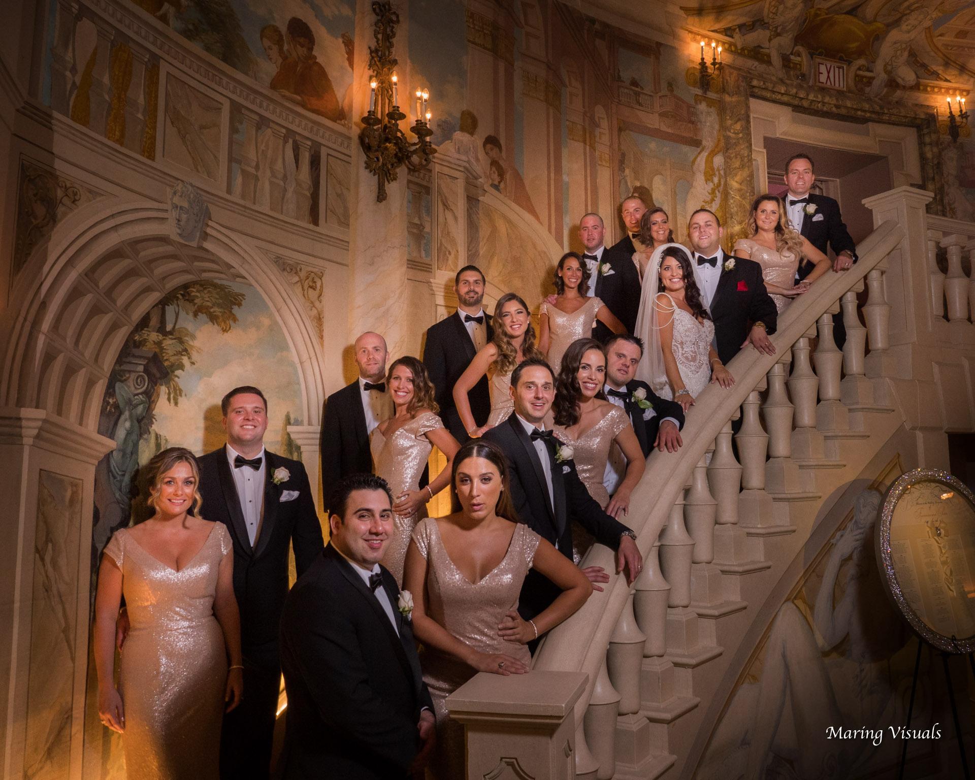 Pierre Hotel NYC Wedding Party