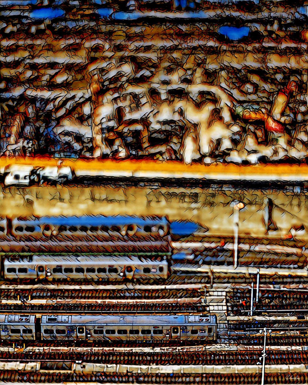 Hudson Yards by Charles Maring