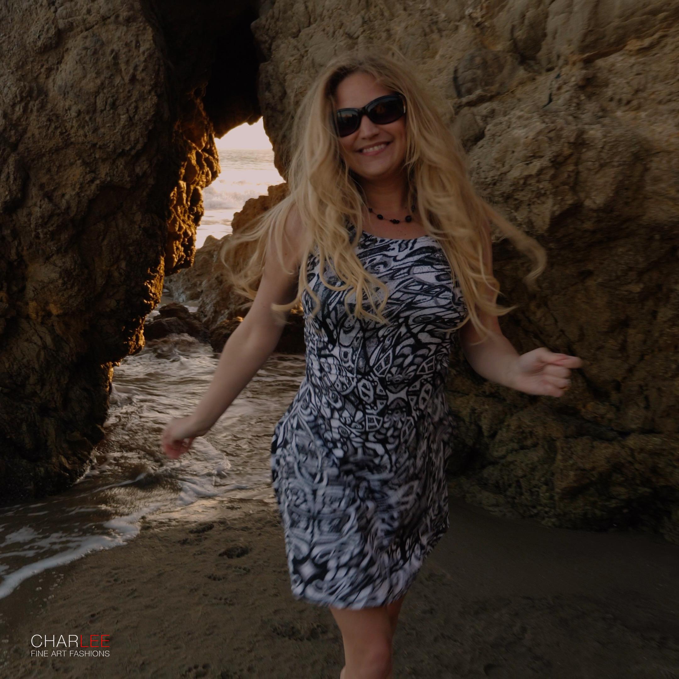 Charlee The Dream Flare Dress BW Malibu CA-017.jpg