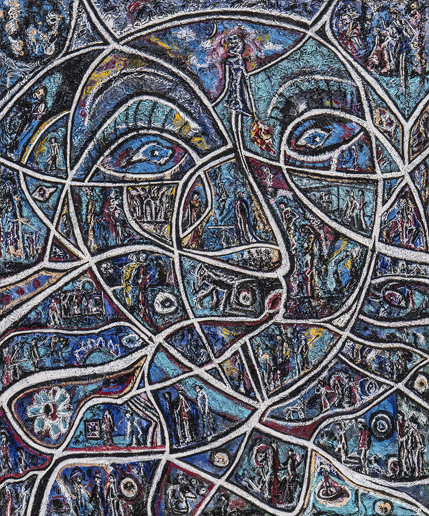 The Inside Out - Abstract Expressionism by Charles Maring