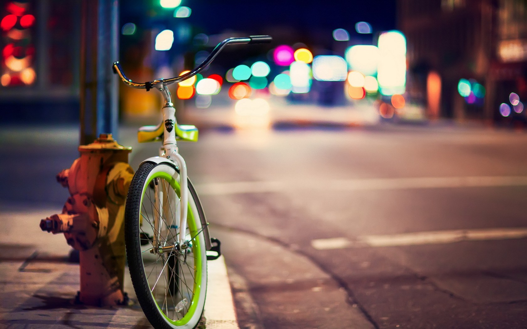 Florida Bike Crash at Night