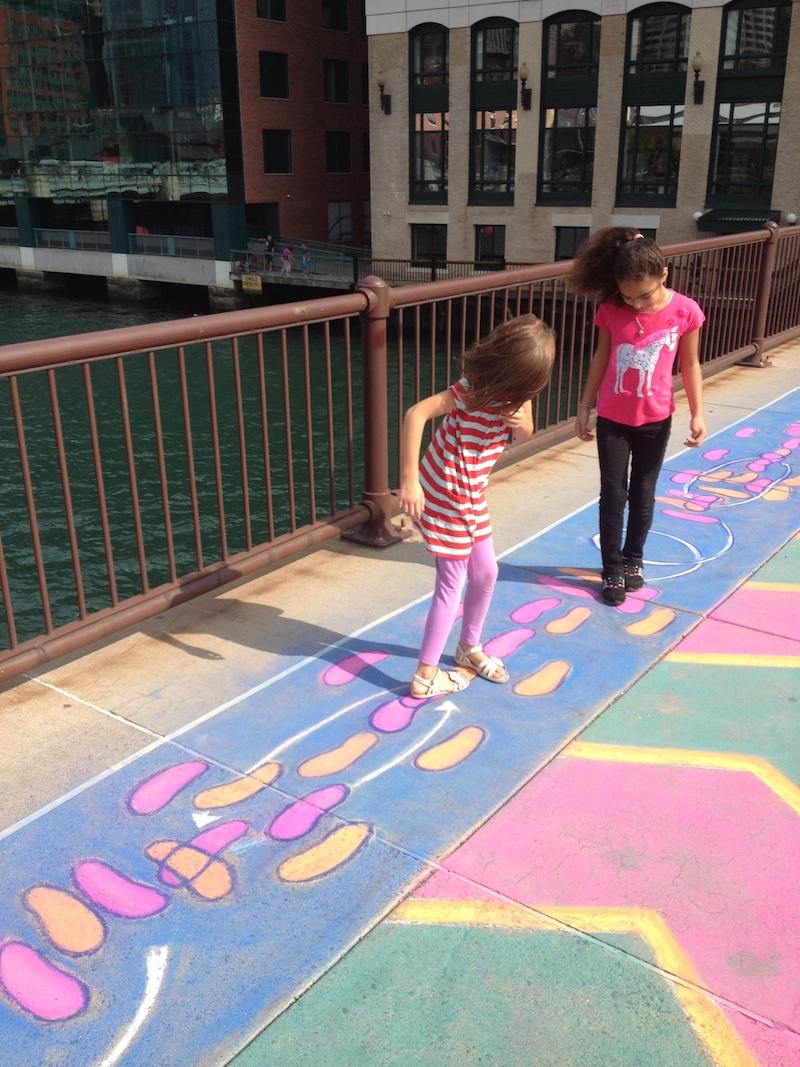 Elisa Hamilton, Dance Spot , Summer Street Bridge, Boston, MA, 2012. Photo courtesy of the artist.