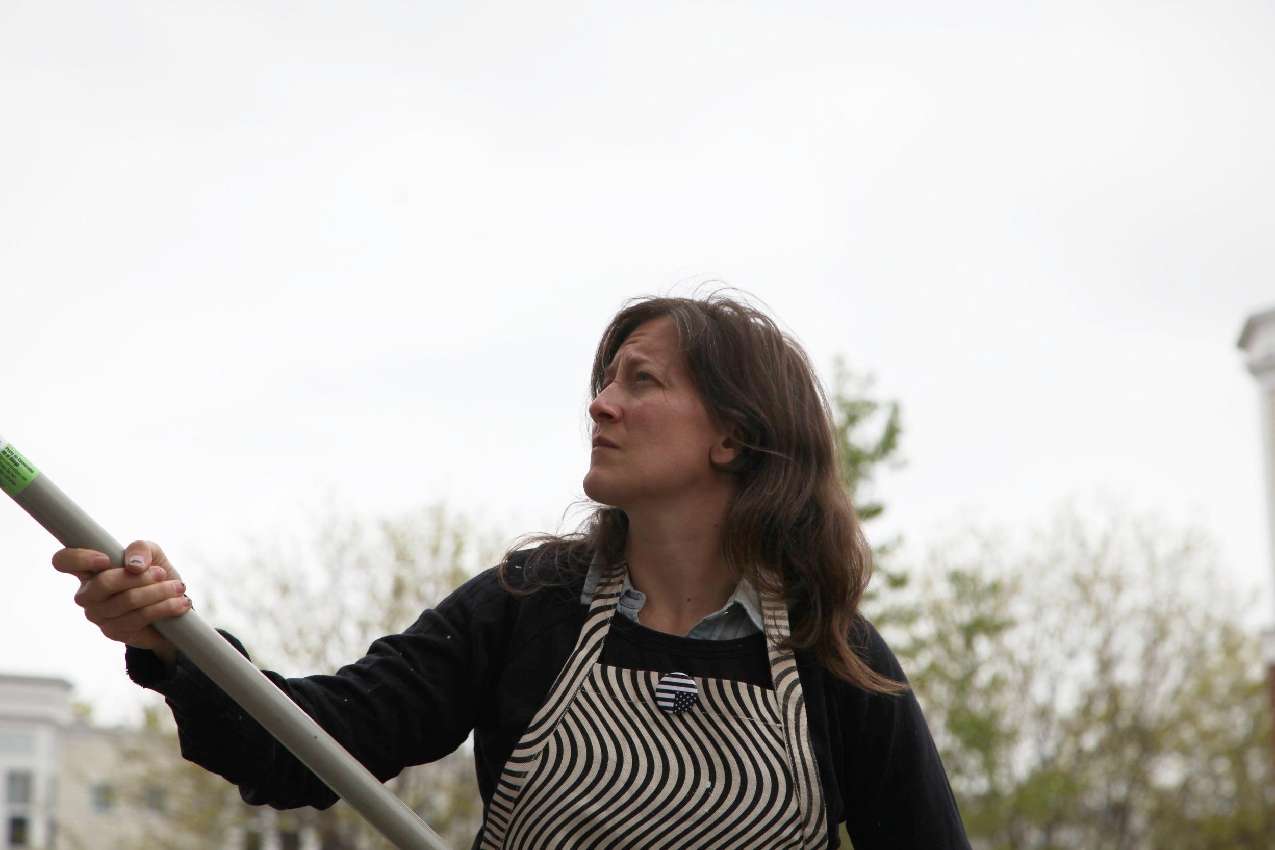 Ann Lewis testing her upcoming  Tabula Rasa  for N + T