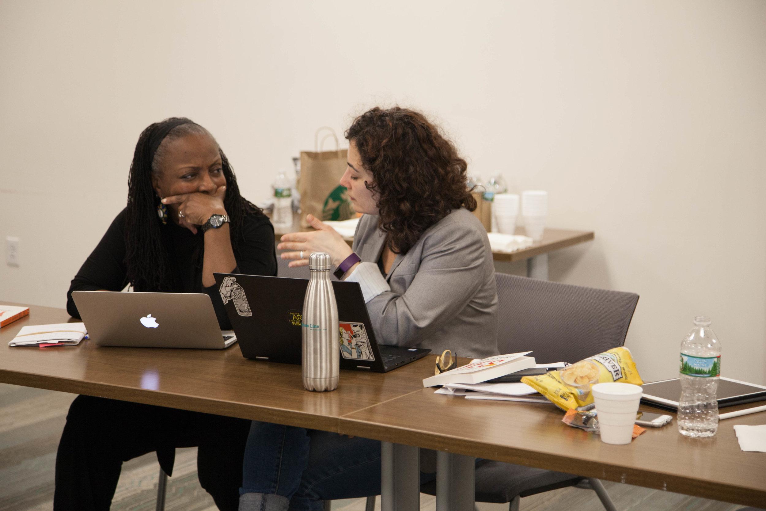Now + There Accelerator artists Ekua Holmes and Lina Maria Giraldo discuss digital outreach.