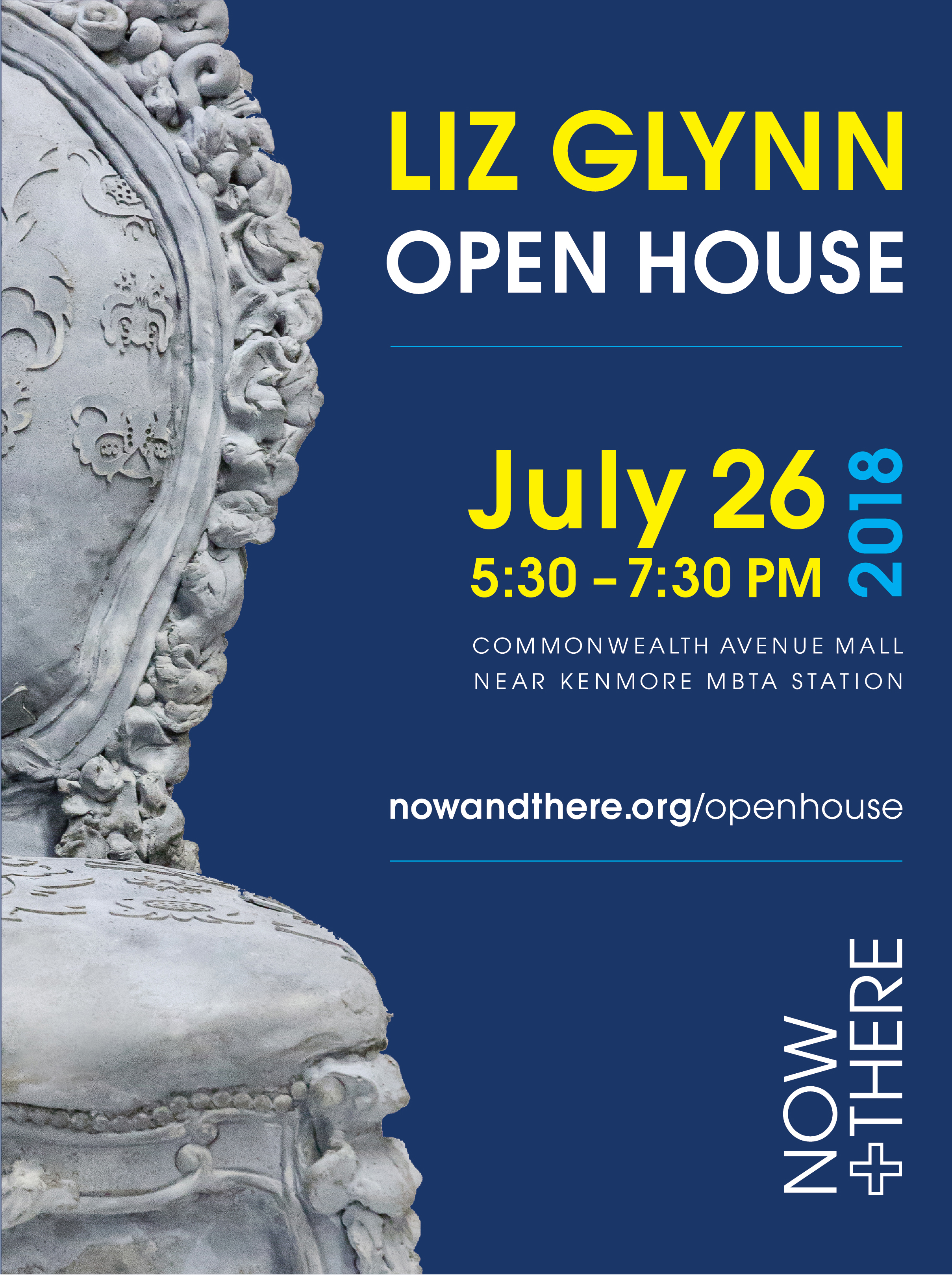 You're invited to Liz Glynn: Open House