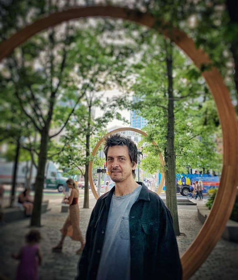 Oscar Tuazon | Photo by Syliva Stagg-Giuliano