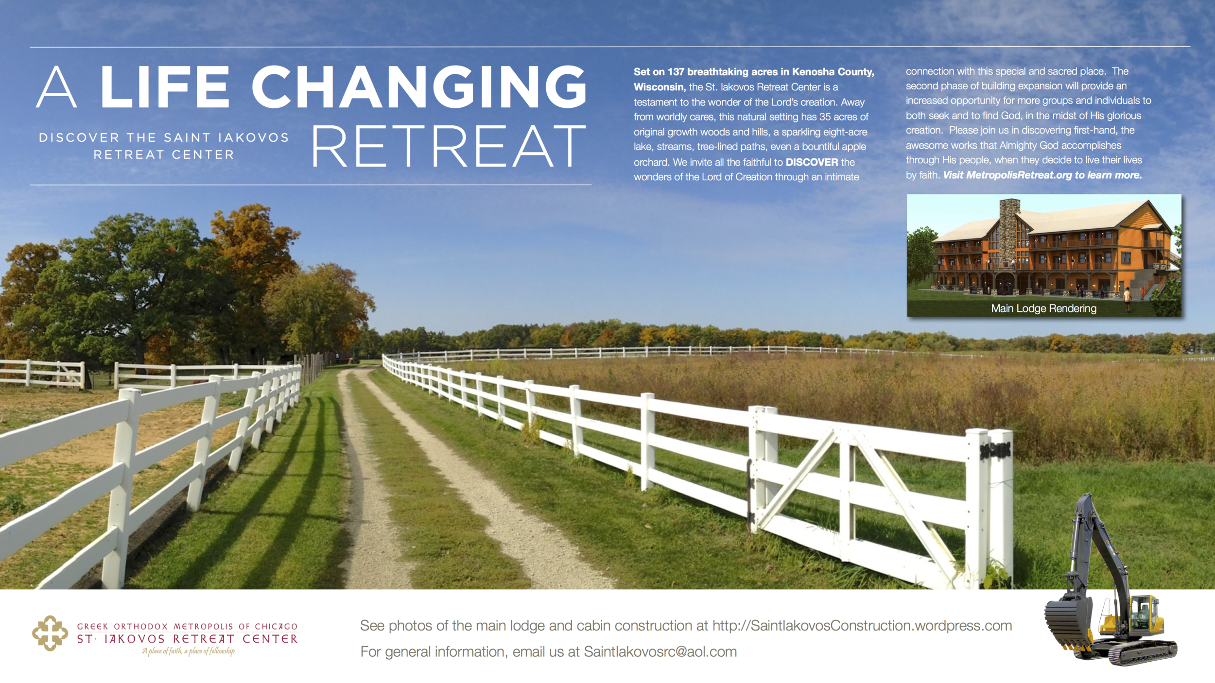 2010 SIRC Life Changing Retreat Poster