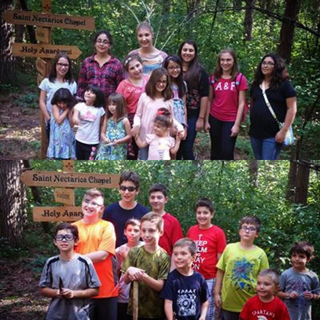 #TBT to this time 2 years ago! September 2015 we had the pleasure of hosting Sts. Constantine and Helen in Merrillville, IN for their parish retreat. Pictured here are the youth on the #Proskynitaria trail. #Discover #GoSIRC