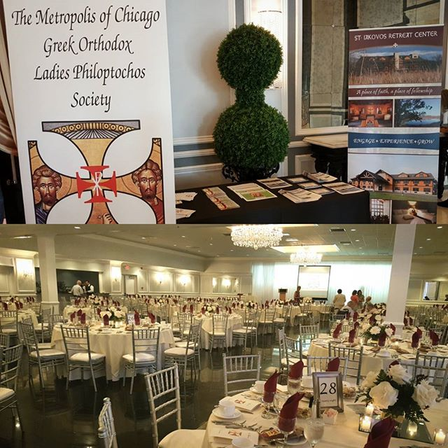Thank you from the bottom of our hearts to the beloved Philoptochos Society of the Metropolis of Chicago for hosting a beautiful luncheon and for your endless support! May God bless you always as you continue to serve Him! #Discover #GoSIRC