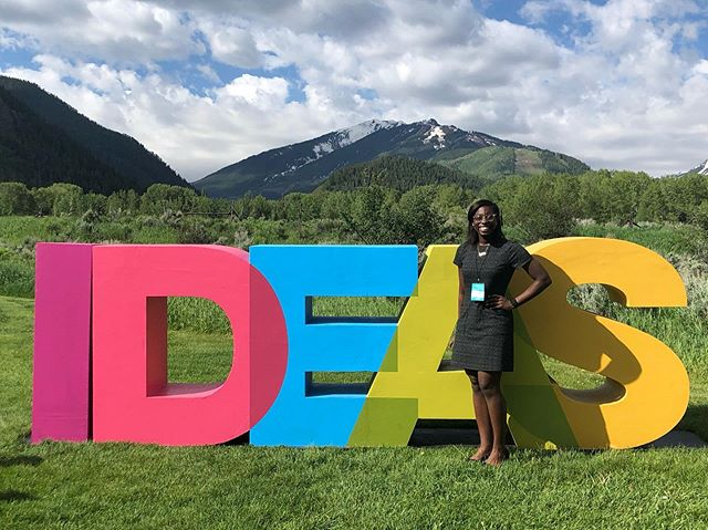I spent a lot of time in self doubt last week. I attended the #AspenIdeasHealth Festival as a Health Scholar and I felt completely out of my league. I was often the youngest and least experienced out of all the rooms I walked into and had to really push myself to take full advantage of the opportunity. People are quick to dismiss imposter syndrome, but it exists. Constantly telling yourself that you belong when you don't believe it is exhausting. 〰️ I share because I know I'm not alone. I've been incredibly fortunate to have access to amazing spaces of leadership and advocacy. I don't take that responsibility lightly, but it is really tough to find myself deserving of the privilege. 〰️ So special thanks to my community for reminding me that God saw me fit for this moment and I shouldn't doubt His timing or placement ✨