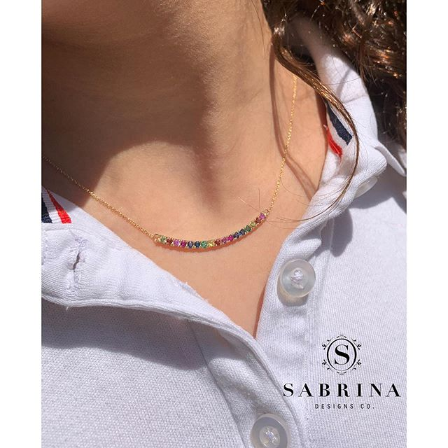 Our rainbow jewelry makes the PERFECT graduation gift for any age! 💗  Sabrina Designs @ JCK Las Vegas BOOTH #12051 See you there!  Call or email us TODAY to make an appointment! (212)302-6840 or Matthew@sabrinausa.com • • • • • #SabrinaDesigns #diamondbracelet #finejewelry #diamondbands #diamondsareagirlsbestfriend #diamondbangles #Sabrina #14K #diamondsandgold #jewelry #thinhoops #diamondhoops #goldjewelry #jewelrygoals #linkbracelet #sparkle #giftideas #gift #bling #pinkgold #yellowgold #whitegold #18K #mothersday #blackdiamonds #rainbowdiamonds #rainbowjewelry #rainbowfinejewelry