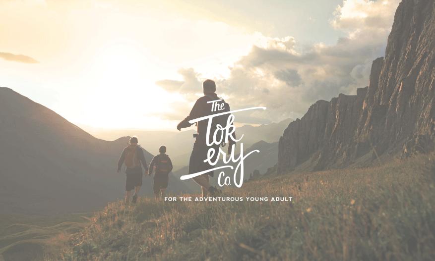 The Tokery Co.,  Logo Design + Branding 2014