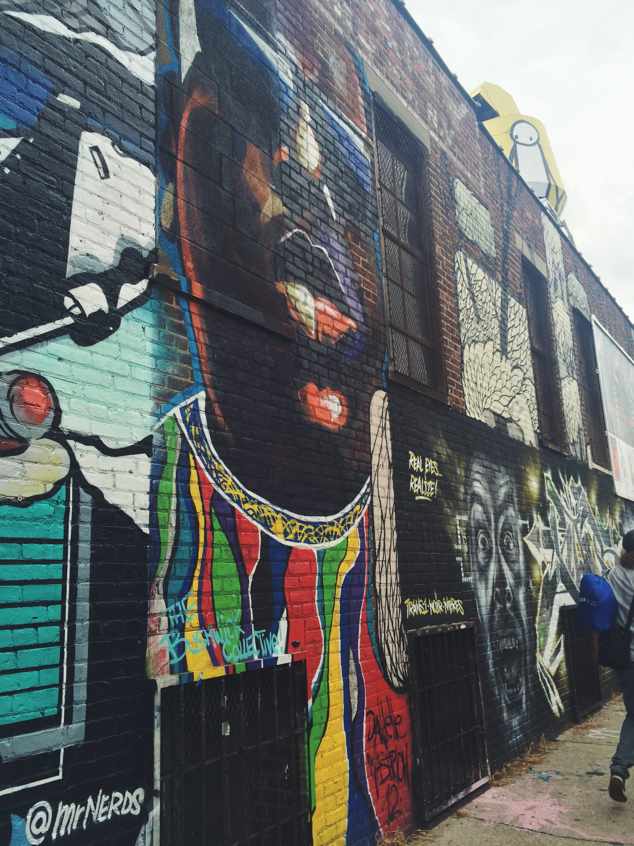 From the Graffiti tour in Brooklyn.