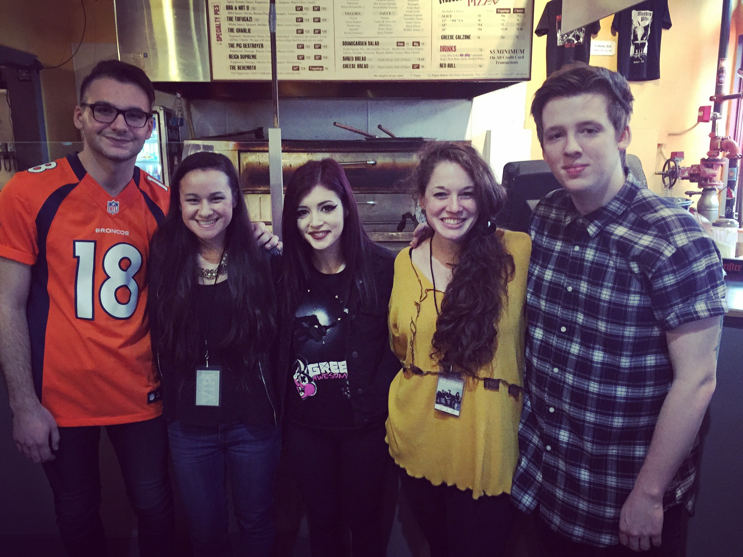 Against the Current band members.