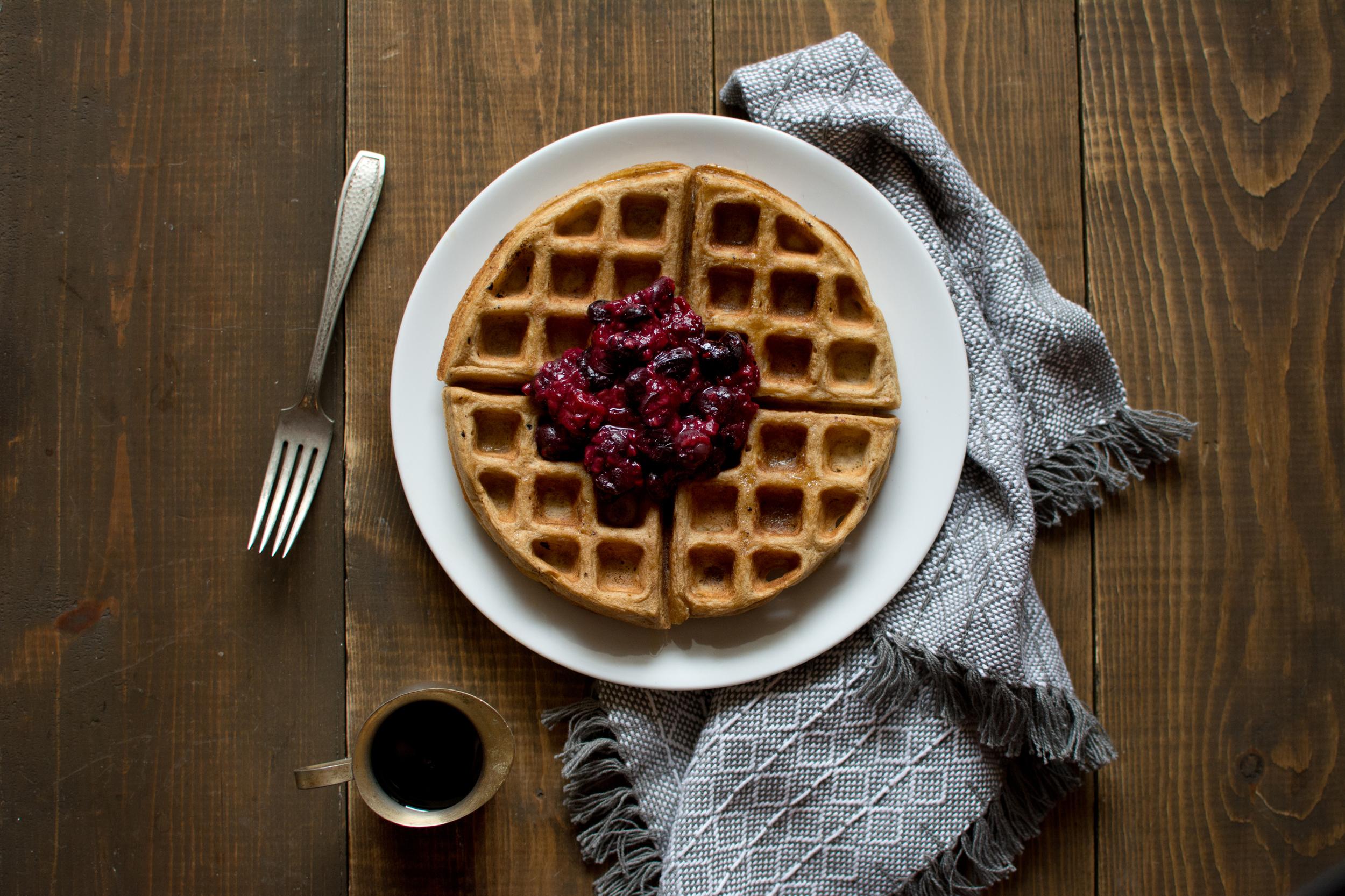 waffles-fruit-topping-recipe