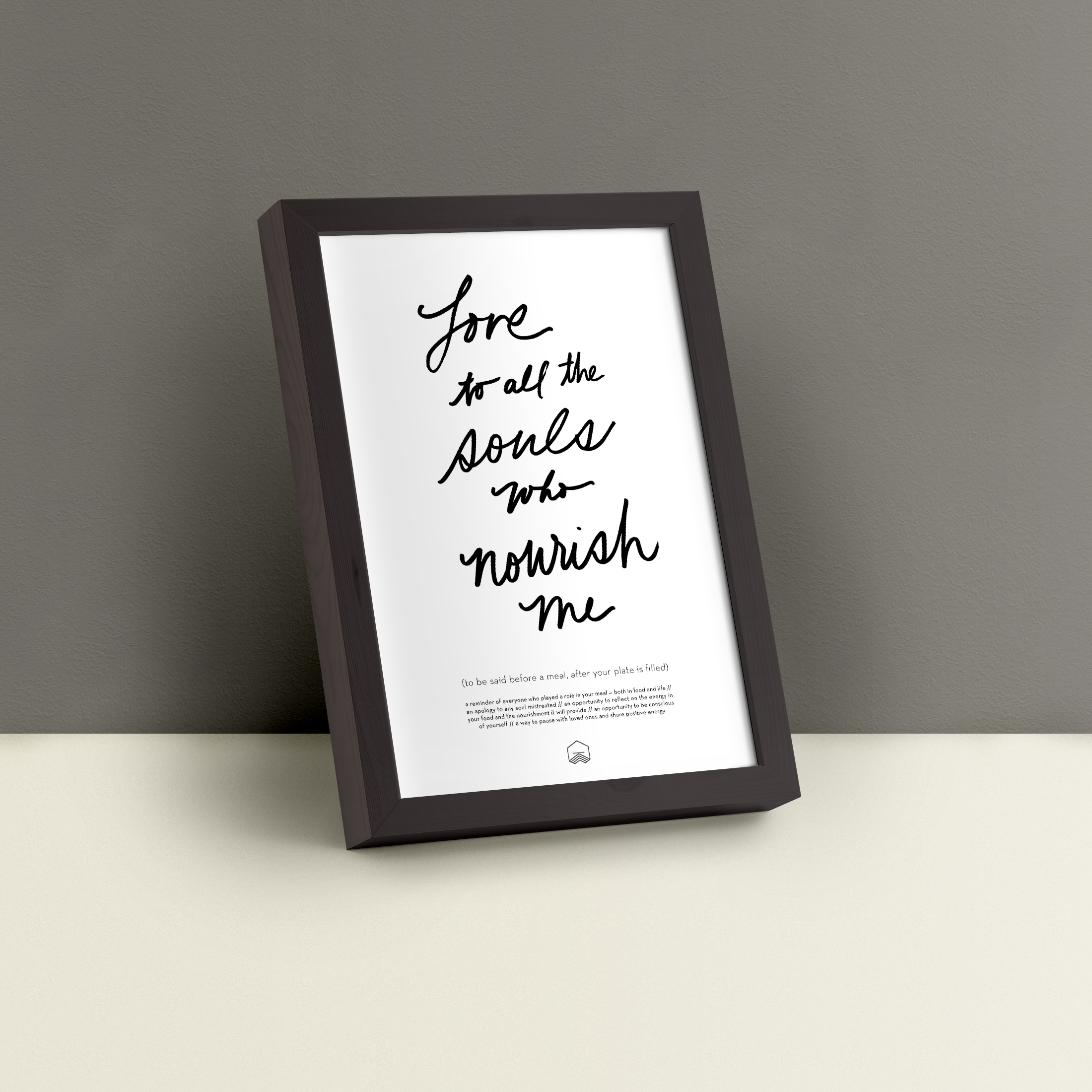 Meal Mantra Poster    See details + more sizes available for download here