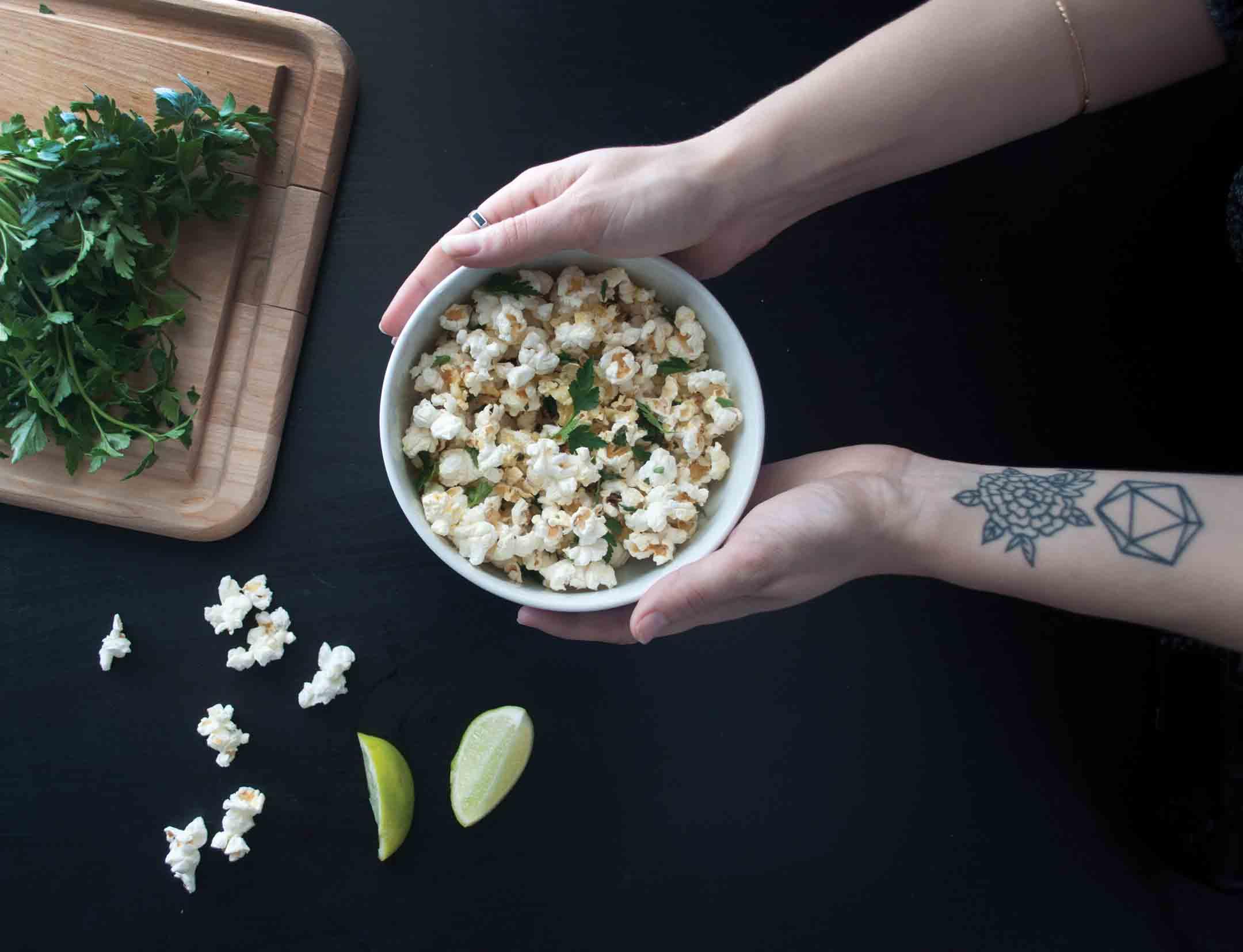 cilantro-lime-popcorn