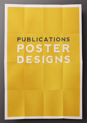 Poster Collection,  Print Design 2013-2015