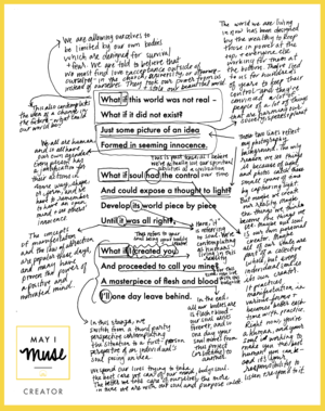 May I Muse,  Poetry Reflection + Analysis 2015-2016