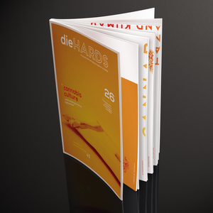 Diehards  Magazine Design 2014