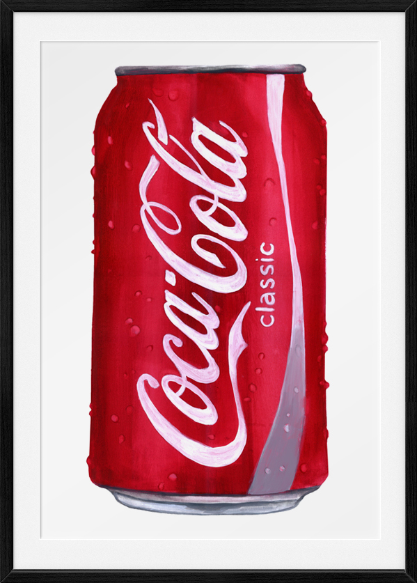 Coke Illustration,  Gouache 2013