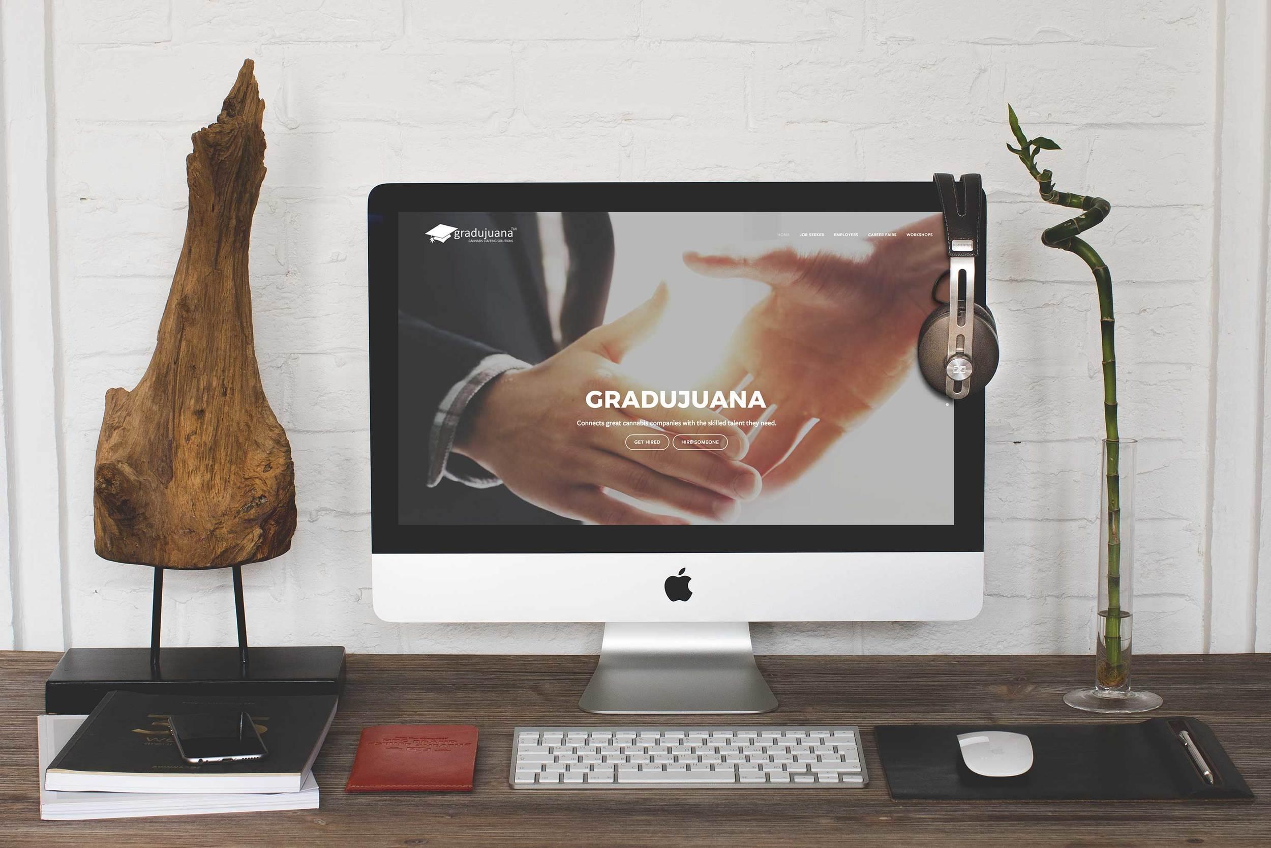 Gradujuana Website Redesign,  2016