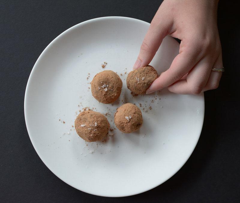 Date + Almond Butter Truffles