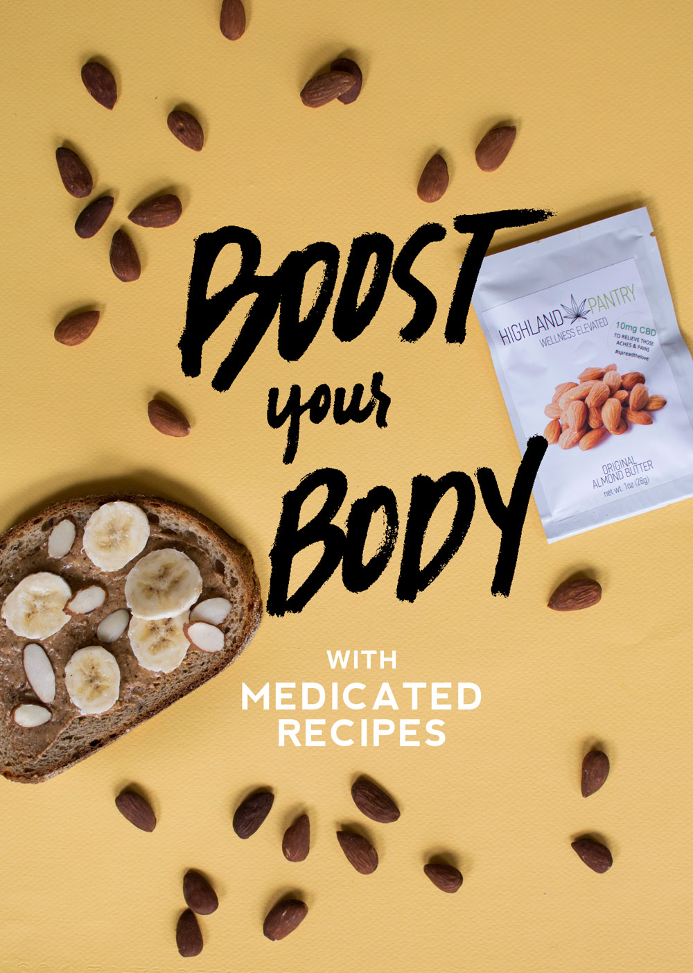 boost-your-body-cannabinoids-highland-pantry-almond-butter