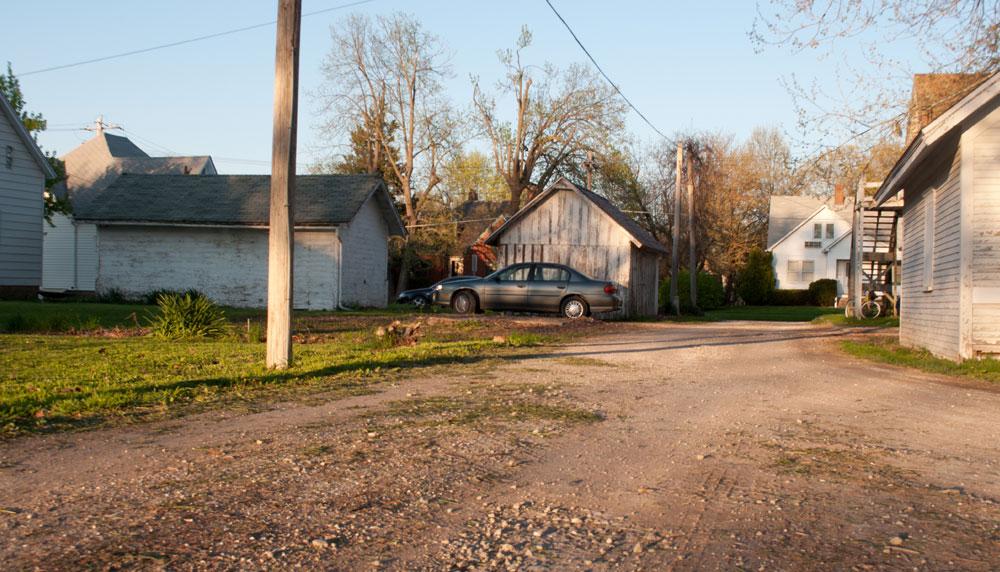 My Kirksville home driveaway