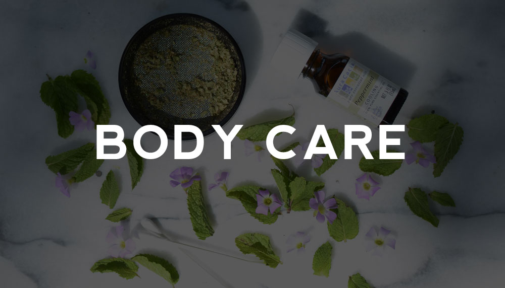 Visit the body care page here!