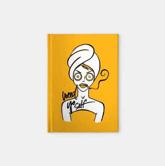 weed-yo-self-notebook-kristen-wiliams-designs